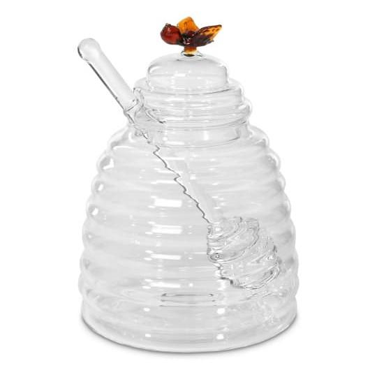 Cuillère à miel en buis - Trésors de la Ruche - Gros plan