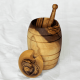Bonbons au miel - Boules fourrees au miel de lavande- Tresors de la ruche - pot zen vue arriere