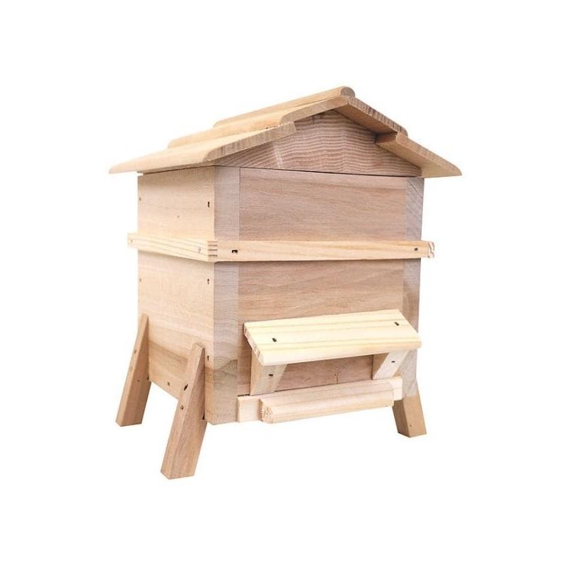 Bonbons au miel - Boules fourrees au miel de lavande- Tresors de la ruche - pot caron vue face